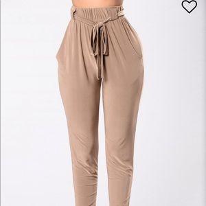 Fashion Nova Push Play Pants